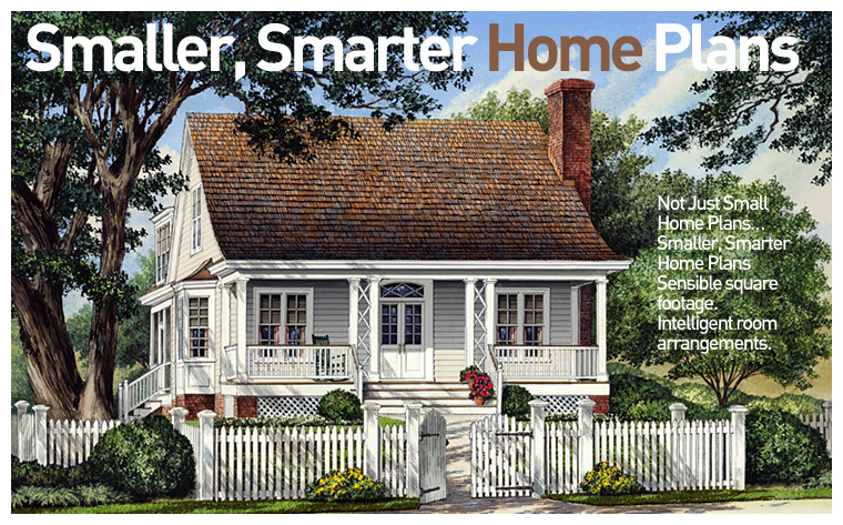 smaller smarter home plans ForSmaller Smarter Home Plans