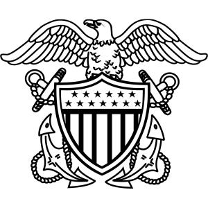 gunston coloring pages   Navy Officer Crest   Car Interior Design